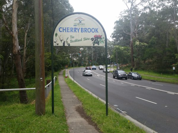 Cherrybrook Road Sign