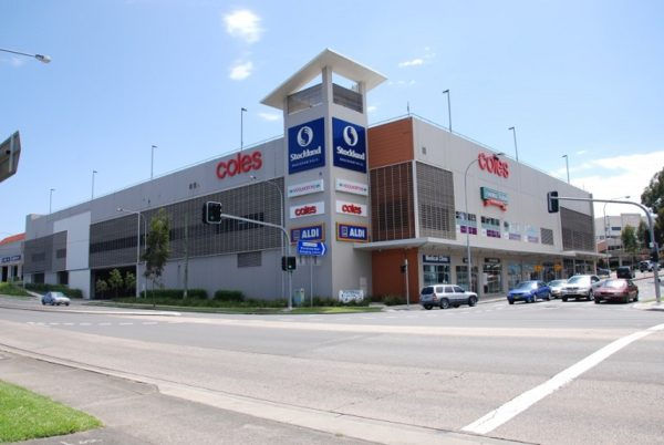 A photo of the Baulkham Hills shopping centre located in Baulkham Hills.