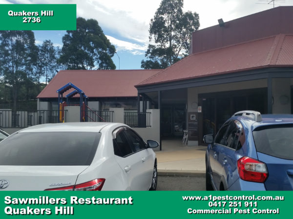 Picture of the entrance to Sawmillers Family Restaurant in Quakers Hill (Near Quakers Hill Inn)