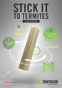 Stick it to Termites