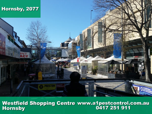Picture of the Hornsby Westfield Restaurant Plaza