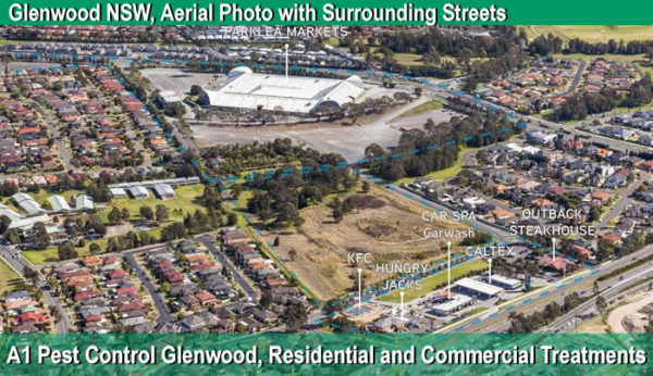Aerial Photo of Glenwood