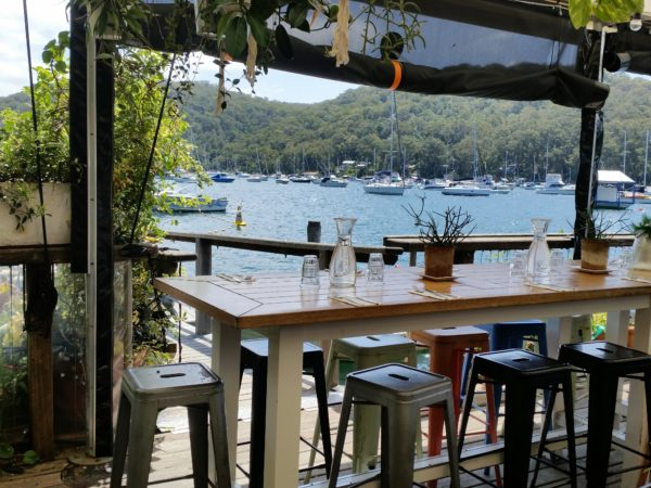 The Marina Cafe at Church Point 1856 Pittwater Road