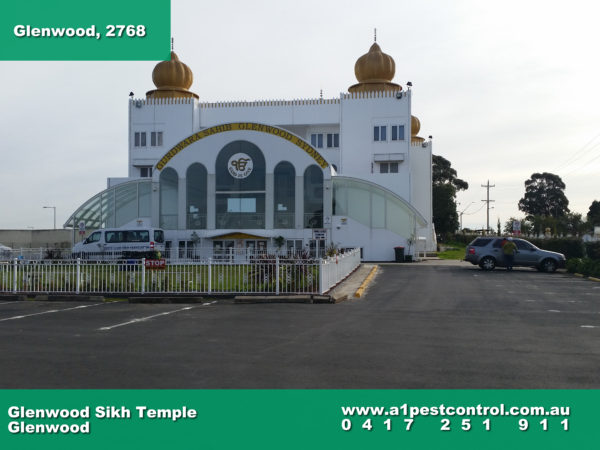 A photo of the Sikh temple that is located in Glenwood NSW.