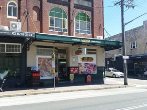 Shops located on Catherine Street in Lilyfeild
