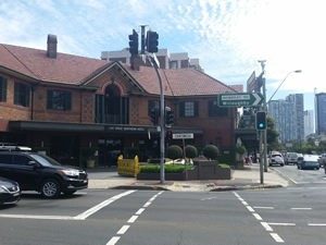 The Great Northern Hotel, situated on Pacific Highway