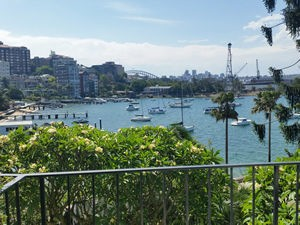 Elizabeth Bay Apartment veiw