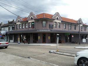 The local pub, the Birkenhead Hotel