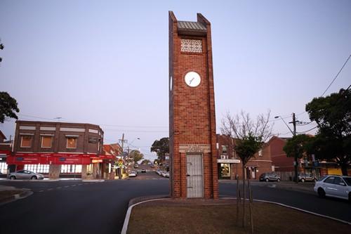 Street view of Oatley Clock Tower