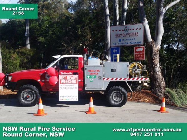 NSW Rural Fire Service Round Corner