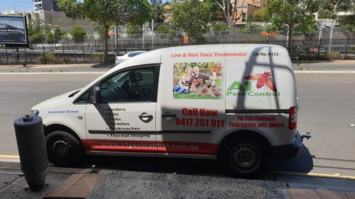 A1 Pest Control Epping Van