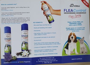 Sundew Flea Treatment Brochure